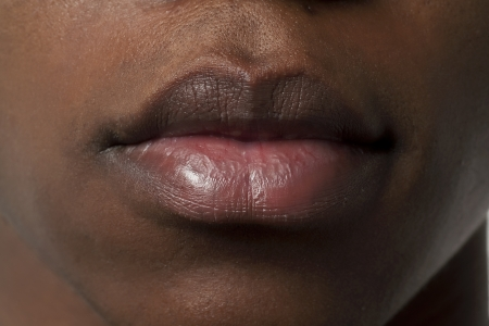 mouth close up: Close up image of guy lips