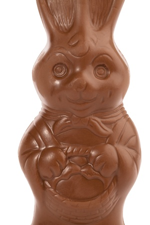 Easter chocolate bunny in a close-up image Stock Photo - 16999258