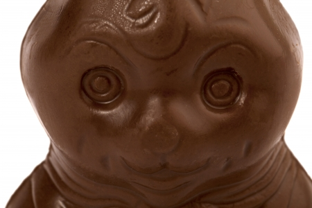 Easter chocolate bunny in a macro image Stock Photo - 16998764