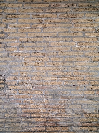 A worn down brick wall. Stock Photo - 17111980