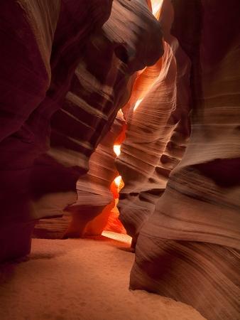 View of antelope canyon. Stock Photo - 17119722