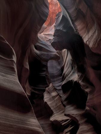 Low angle view of canyon antelope. Stock Photo - 17121109