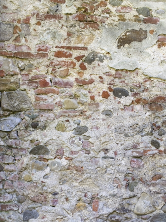 Image of stone wall and cement Stock Photo - 17150337