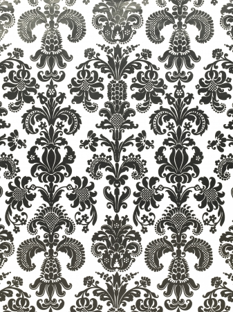 A close-up image of a vertical vintage dark wallpaper Stock Photo - 17150046