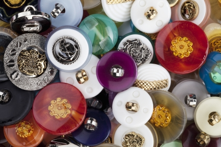 Close up image of assorted heap buttons Stock Photo - 17149318