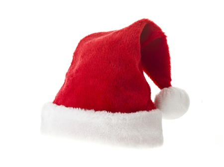 Christmas hat isolated on white