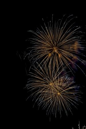 Closeup of fireworks Stock Photo - 17143530