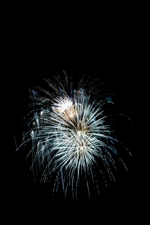 Closeup of fireworks Stock Photo - 17142707