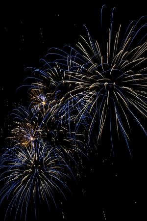 Closeup of fireworks Stock Photo - 17143152