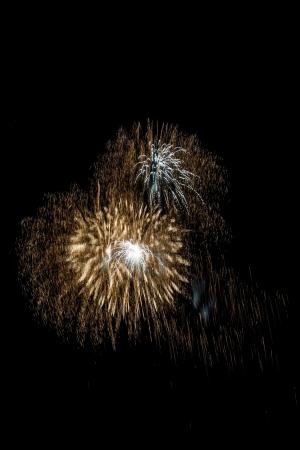 Closeup of fireworks Stock Photo - 17143535
