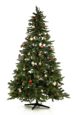 Illustration of Christmas tree in a full length image Stock Illustration - 17148675