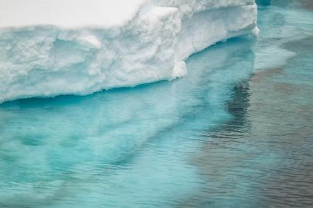 icecaps: Close up image of ice berg in Antarctica