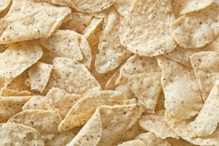 totopos: Nacho chips background