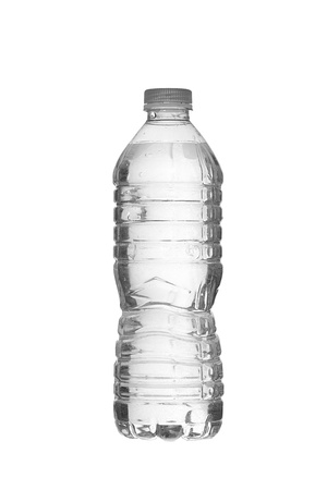 bottled water: White Bottled water in a vertical image
