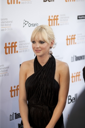 Anna Ferris joins the fanfare at the 2011 Toronto International Film Festival on September 9th 2011 for the screening of 'Moneyball'