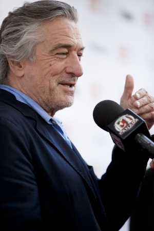 arrives: Actor Robert De Niro arrives at the gala for the film Killer Elite during the Toronto International Film Festival in Toronto, Saturday, Sept., 10, 2011. Editorial