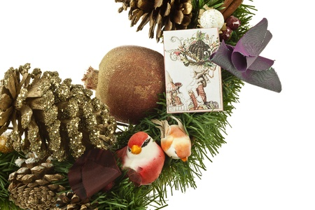 Christmas decorations in a close-up image Stock Photo - 17168779