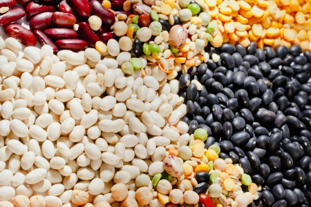 Image of assorted heap of beans Stock Photo - 17167508