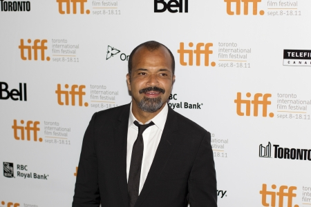 Actor Jeffrey Wright stops for the media at TIFF 2011 on September 9th, 2011 for the screening of Ides Of March