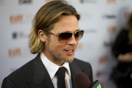 Brad Pitt Hits the red carpet at the 2011 International Film Festival for the screening of his latest movie Moneyball Editöryel