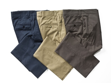 Close-up image of pants against white background. Stock Photo - 17208151