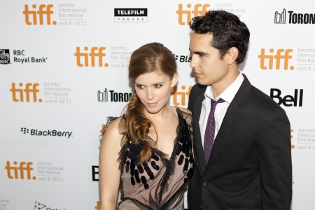 september 9th: Kate Mara steps out onto the red carpet of the 2011 Toronto International Film Festival with Max Minghella for the screening of her new movie Ten Year, on September 9th 2011