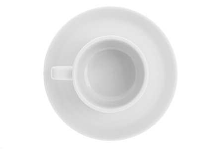 Plain coffee mug in a white background Stock Photo - 17185507