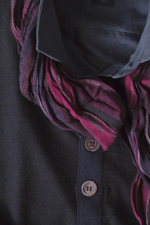 Scarf on clothes in a macro image Stock Photo - 17210449