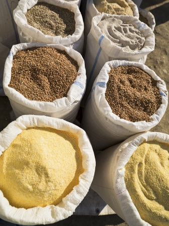 Image of spices for sale. Stock Photo - 17210080