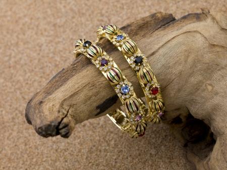 Image of two elegant bracelets Stock Photo - 17206728