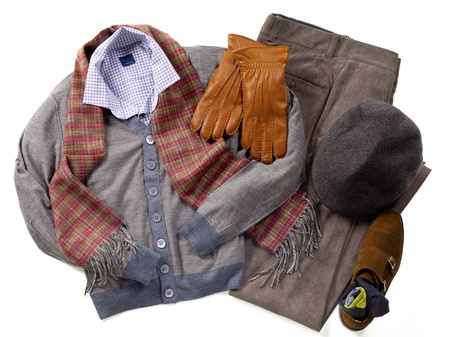 Close-up of winter wear. Stock Photo - 17209437