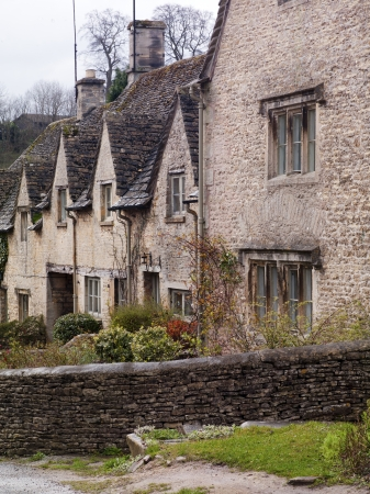 A series of English homes in Cotswold Stock Photo - 17230676