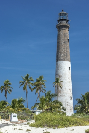 dry tortugas: Close-up image of a dry Tortugas lighthouse