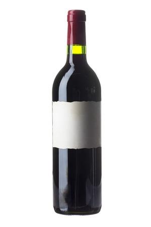 tipsy: A Bottle of wine Stock Photo