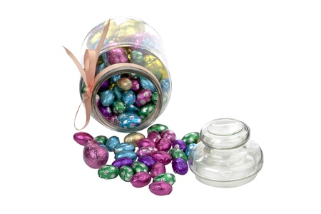 Image of Easter candies in a jar. Stock Photo - 17252366
