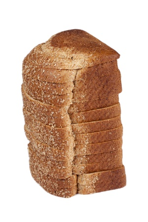 A loaf of bread over the white background Stock Photo - 17258676