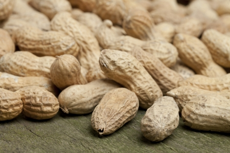 earthnut: Close up image of bunch of peanuts Stock Photo
