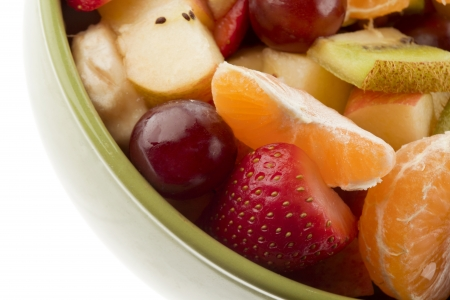 Close-up cropped image of variety of fruits in bucket. Stock Photo - 17258339