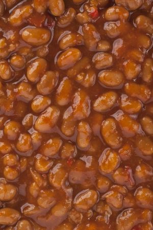 Close-up image of a chili meat sauce photo