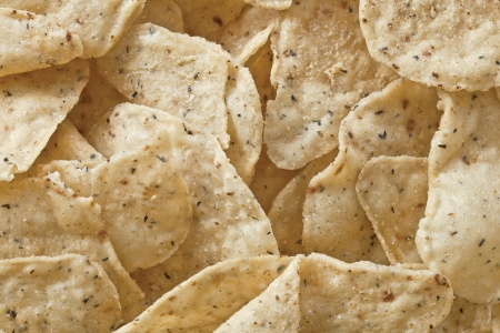 Close up image of heap of nachos chips Stock Photo - 17325642