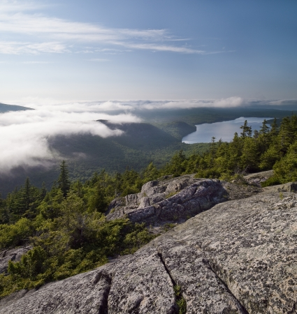 cadillac mountain on Mount Desert Island, United States photo