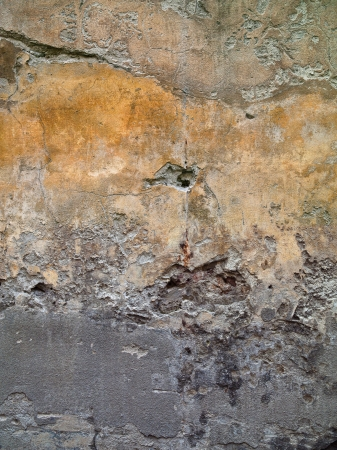Abstract grunge like quality is amplified with this wall background. Stock Photo - 17339272