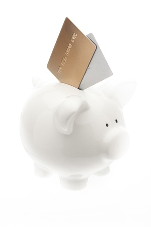 credit card debt: Photo indicates Credit Card debt can take over  life savings Stock Photo
