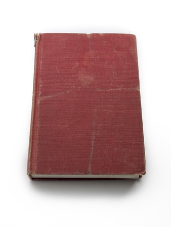 An aged hardcover red book