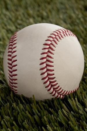 pelota beisbol: De cerca la imagen de la pelota de b�isbol