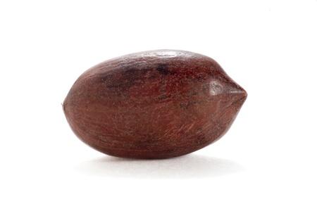 goober peas: Nut on a white background Stock Photo