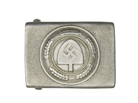 Close-up shot of a German army belt buckle with swastika sign on it. Stock Photo - 17488809
