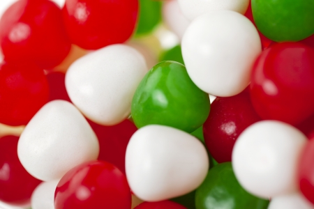multicolored gumballs: Multicolored gumballs isolated on Stock Photo