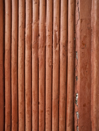 A close up of wooden dowels that are set close together Stock Photo - 17494077