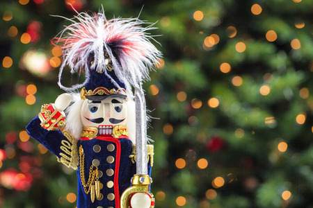 christmas toy: Beautiful and colorful stock imges of holiday nutcracker ornament decoration